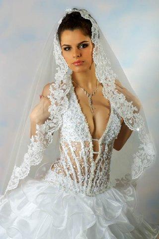 свадебные платья фото сексуальные